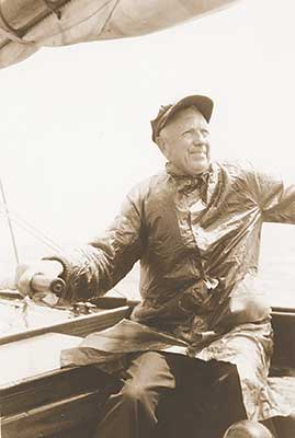 Prince Charters patriarch at the helm
